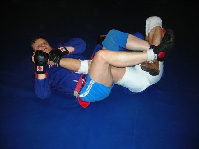 Christian BRUZAT, champion du Monde de Sambo