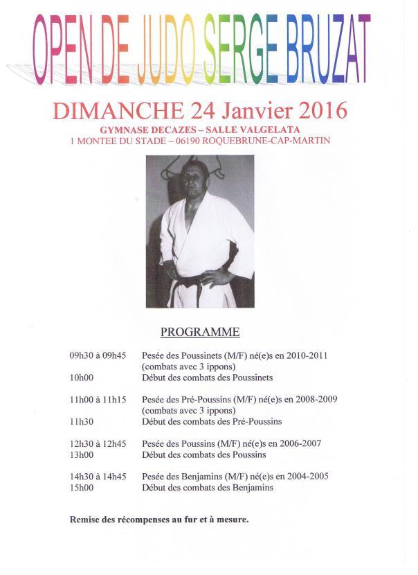 Open de Judo Serge Bruzat 24.01.2016 001